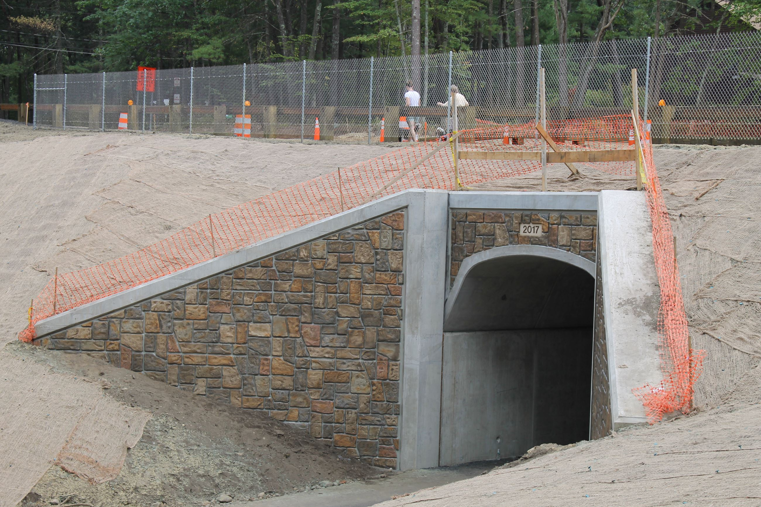 BFRT – Powder Mill Road tunnel painting completed 9/14/17