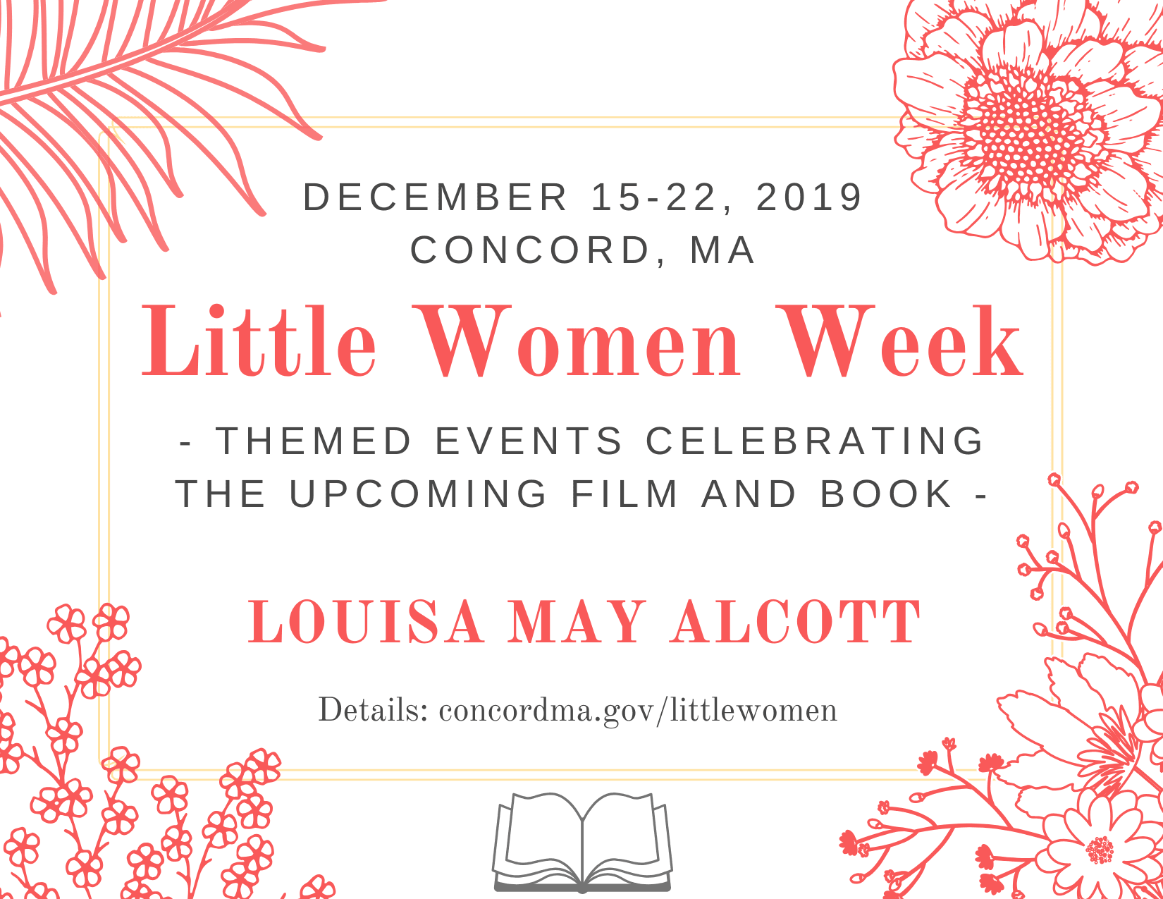 Little Women general graphic December 15-22